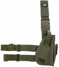 Mfh Fully Adjustable Right Tactical Leg Holster Olive Od