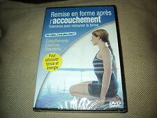 """DVD NF """"REMISE EN FORME APRES L'ACCOUCHEMENT"""" exercices pour retrouver la forme"""