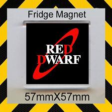 RED DWARF – LOGO- FRIDGE MAGNET 57mm X 57mm - CULT TV #1