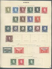Bosnia - Lot of MH/Used Stamps on Collector Page 10000/4