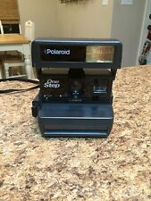 Vintage UK Polaroid 600 One Step Flash Instant Film Camera - TESTED WORKING VGC