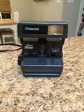 Vintage UK Polaroid 600 One Step Flash Instant Film Camera - TESTED WORKING VGC
