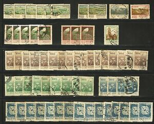China: Lot of accumulation of stamps repeat for studies. EBCH15