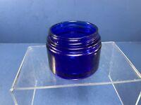 Vintage, Noxzema Cobalt Glass Medicine Jar With No Lid
