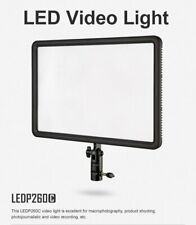 Godox LEDP-260C Ultra Slim Camera LED Video Light Panel 3300K~5600K Bi-Color