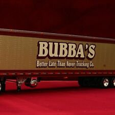 "LAST Rare New - ""WORLD FAMOUS"" BUBBA'S PETERBILT 387 REEFER - 1/64 DCP 30405"