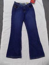 New Vtg Mudd Blue Jeans Bell Bottoms Hippy Denim Junior 7 28X30 4T0959