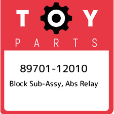 89701-12010 Toyota Block sub-assy, abs relay 8970112010, New Genuine OEM Part