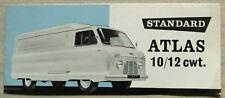 STANDARD ATLAS 10/12 cwt VAN & PICK UP Sales Brochure Feb 1959 #279/2/59