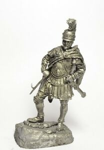 Tin soldier, figure. Hannibal Barca, Carthaginian Commander, 247-183 BC 60 mm
