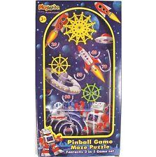 ROBOT HAND HELD PINBALL KIDS GAME Boy Gift Boys Toy Christmas Stocking Filler
