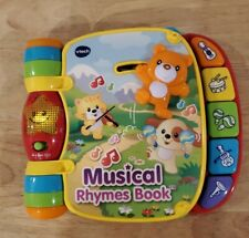 Vtech Musical Rhymes Book Electronic Light Up Talking Toy Educational Tested