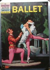 THE HOW AND WHY WONDER BOOK OF BALLET Transworld 1969 pb