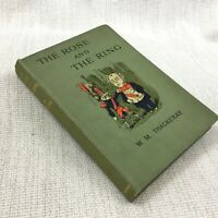 1923 Antico Libro The Rosa E Il Anello William Makepeace Thackeray Vecchio Copia