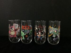 Toy Story IXL Collectable Glasses - Set of 4 #454