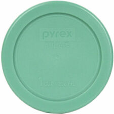 """New Pyrex 4"""" Storage Plastic Green Lid Replacement Cover for 1 Cup Bowl 7202-PC"""