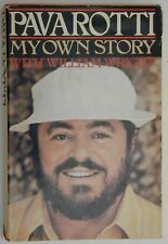 """""""Pavarotti My Own Story"""" Hand Signed - First Edition - Vintage Hardcover Book"""