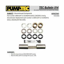 Carpet Cleaning - Pumptec 500 PSI Plunger & Seal Repair Kit