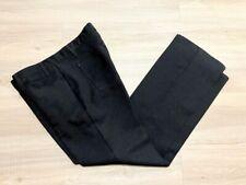Vintage 1970's Men's Black Levi's Polyester Pants Bell-Bottoms Flares Retro