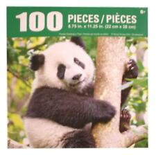 "Giant Panda Bear Tree Hugger Jigsaw Puzzle 100 Pieces 8.75""X11.25"" Piece Puzzle"