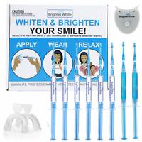 BrighterWhite Teeth Whitening Kit 18%CP 3ml Bleaching Gel W/ 1LED light 2trays