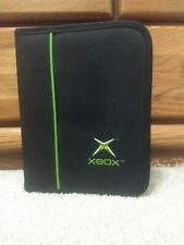 Original Xbox Disc And Memory Card Carrying Case With Games