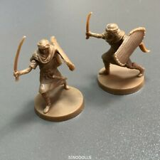 Lot 2 Dark Souls Characters Expansion MINIATURE Dungeons & Dragon Miniatures