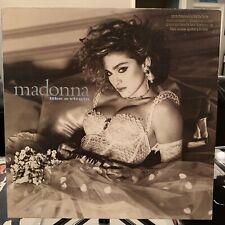 MADONNA Like A Virgin vinyl LP WHITE PROMO 1984 NM!