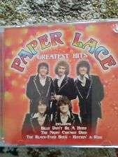Greatest Hits by Paper Lace CD Music Cub 16 tracks