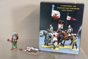 KING & COUNTRY MK050 CRUSADERS 1096 1204 SARACEN with GRUESOME TROPHY SET nv