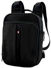 Victorinox Swiss Army Flex Pack 3-Way Carry Mini Backpack Black w/ Red Logo