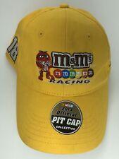 Nascar M&Ms Racing team Kyle Busch #18 Joe Gibbs Hat Baseball Cap Strapback NWOT