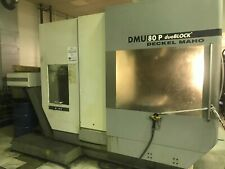 2007 Dmg Dmu 80p 5 Axis Cnc Vertical Machining Center