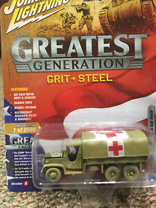 New Series Collectibles Metals Die Cast Greatest Generation WWII 2 1/2-ton Truck