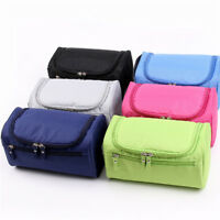 Travel Cosmetic Makeup Bag Portable Toiletry Case Wash Pouch Organizer Storage L