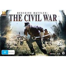 Decisive Battles The American Civil War History Channel  dvd set Region 4