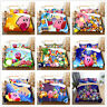 3D Kirby Kids Duvet Cover Bedding Set Comforter Cover Pillow Case Quilt Cover