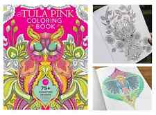 Adult Coloring Book THE TULA PINK 75 Fanciful Designs to Color Drawing Art