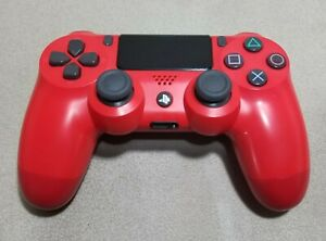 Original Genuine Sony Playstation PS4 Controller Dualshock 4 Magma Red