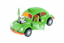 "5"" Kinsmart VW Volkswagen Beetle Dragracer Diecast Model Toy Car 1:32 Green"
