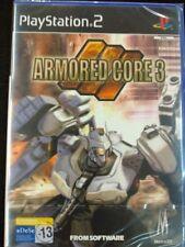 Armored Core 3 para playstation 2 Nuevo y precintado PAL