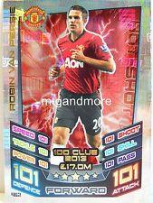 Match Attax 2016/17 Premier League - #462 Robin Van Persie 2013 - 100 Club