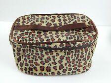 Makeup Bag Leopard Animal Print Cosmetic Bag Storage Tote