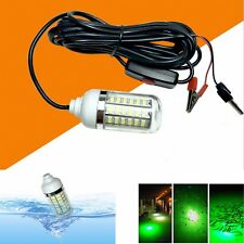 Underwater Fishing Lamp 108LED Waterproof Boat Light Squid Prawn Green Light Hot