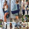 Womens Boho Print Chiffon Loose Shawl Kimono Cardigan Tops Cover up Blouse Shirt