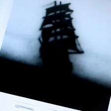 ED RUSCHA SHIP IN THE NIGHT 2010 SWEDEN GALLERY POSTER HUGE EX+ RARE