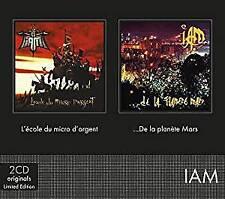 IAM - L'ecole Du Micro D'argent + De La Planete Mars (NEW 2CD)