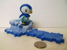 Pokemon Diamond & Pearl Attack Bases Piplup Figure Series 1 Complete Penguin !!!