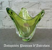 B201692 - Superbe gros vase en cristal signé Val Saint Lambert Belgique