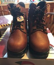 AVENGER Steel Safety Toe Work Boots Size 9.5 W
